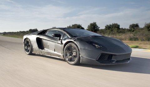 AutoCar Drives Test Mule Lamborghini Aventador LP700-4