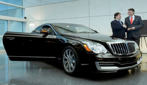 For Sale First Maybach Cruiserio Coupe 01