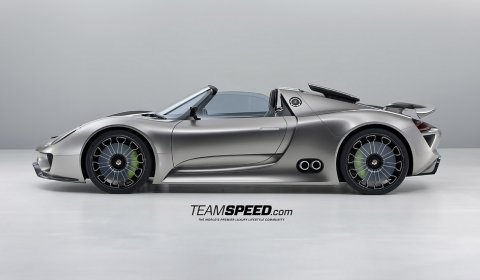 2010 Porsche 918 Spyder Concept. The Porsche 918 Spyder is one