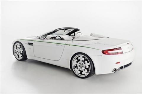 Graf Weckerle Aston Martin V8 Vatage Blanc de Blancs
