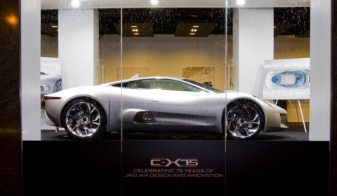 Jaguar C-X75 Concept Back Home at Jaguar Boutique