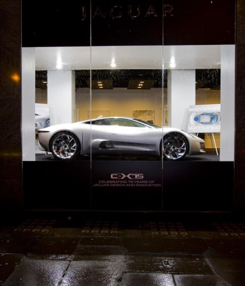 Jaguar C-X75 Concept Back Home at Jaguar Boutique 01