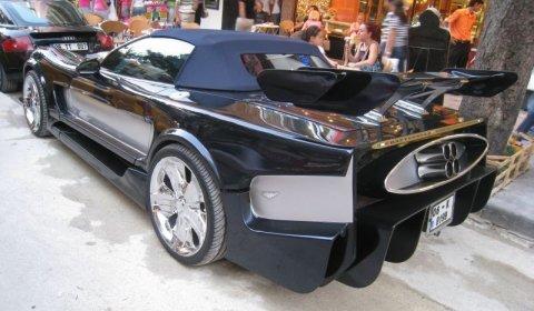 Overkill Battlestar Galactica Corvette C5 Convertible