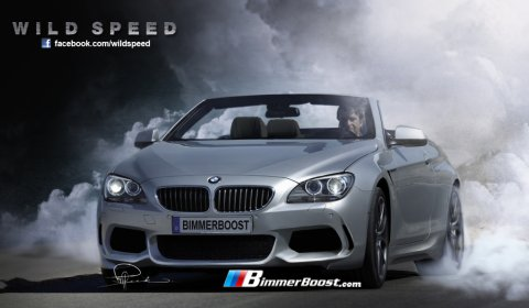 Rendering 2012 BMW F13 M6 Convertible