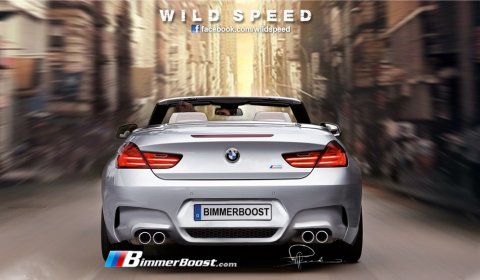 Rendering 2012 BMW F13 M6 Convertible 01