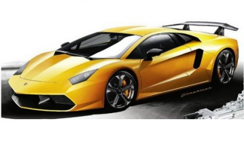 Rendering 2012 Lamborghini Aventador LP700-4