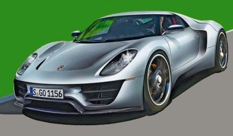 Rumours Porsche Supercar Heading to Detroit 2011