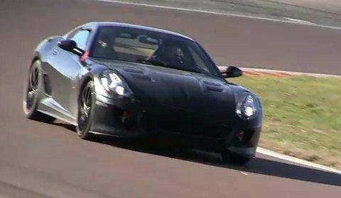 Video 2012 Ferrari 599 Replacement Test Mule Lapping Fiorano?