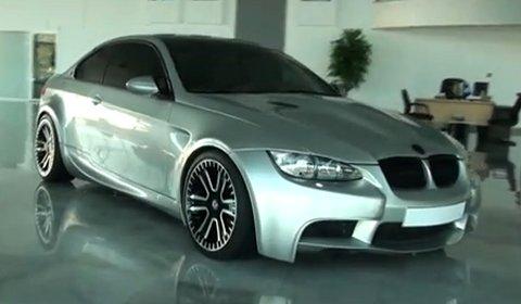 Video BMW E92 M3 by V-BT Racing