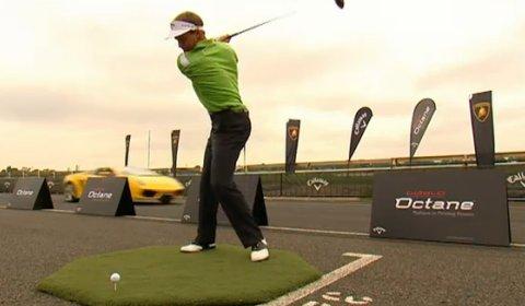 Video Callaway Golf Stuart Appleby VS Lamborghini Gallardo