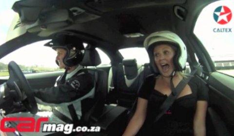 Video Sabine Schmitz Flogs the BMW M3 Frozen Gray