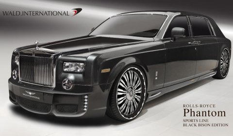 Wald International Rolls-Royce Phantom EWB Sports Line Black Bison Edition