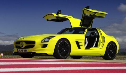 2013 Mercedes-Benz SLS AMG E-Cell