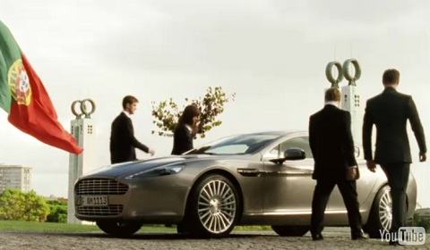 Aston Martin Rapide Film