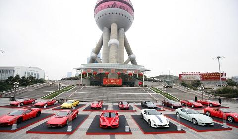 Ferrari Sell 999 Cars In China