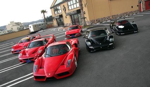 Great Ferrari Collection