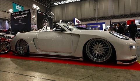 Porsche Panamera Roadster Overkill