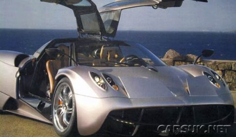 First Official Photo of the Pagani Huayra
