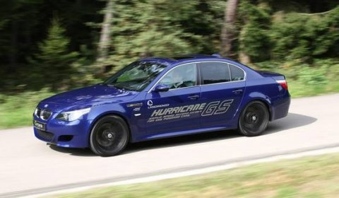 G-Power M5 Hurricane GS Running LPG Does 333km/h