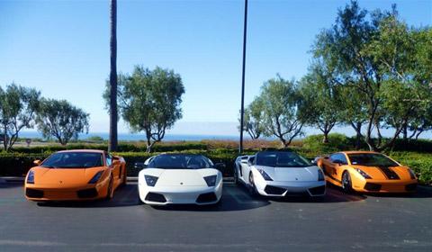 Lamborghini Newport Beach Drive
