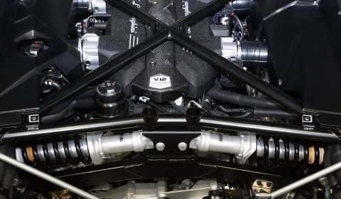 Lamborghini Reveals Images Aventador's Suspension