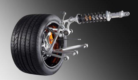 Lamborghini Reveals Images Aventador's Suspension 01