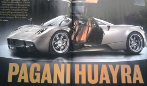 Magazine Shots Completely Reveal 2012 Pagani Huayra