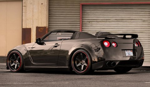 Photo Of The Day Nissan R35 GT-R Roadster