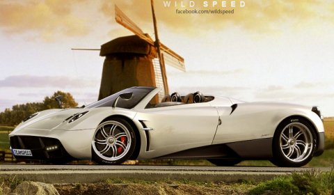 Rendering Pagani Huarya Roadster