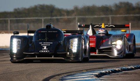 Successful Test Audi R18 at Sebring