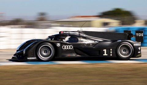 Successful Test Audi R18 at Sebring 01