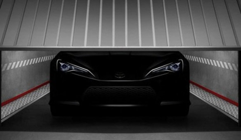 Teaser: 2011 Toyota FT-86 II Concept