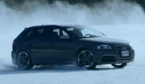 Video Audi RS3 Sportback Drifting in the Snow