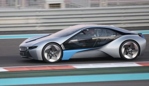 Video: BMW Vision Efficient Dynamics Concept in Abu Dhabi - GTspirit
