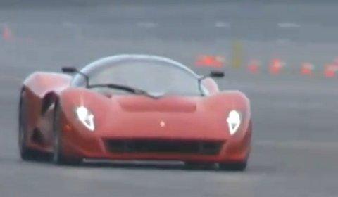 Video Ferrari P4/5 by Pininfarina High Speed Testing