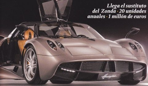 Video Pagani Huayra Teaser Number 4 Released 01