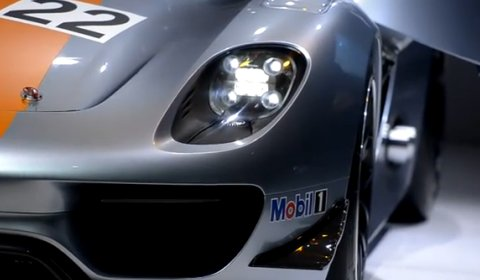 Video Porsche 918 RSR Hybrid Racer