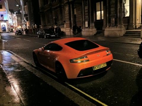 Aston Martin V12 Vantage in London