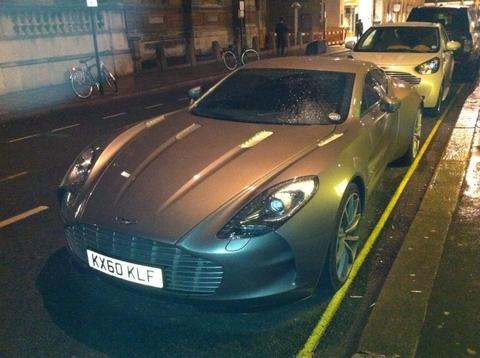 Aston Martin One-77 in London