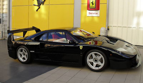 For Sale: Black Ferrari F40 LM