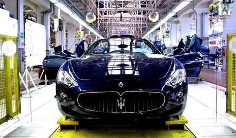 Maserati GranTurismo Assembling