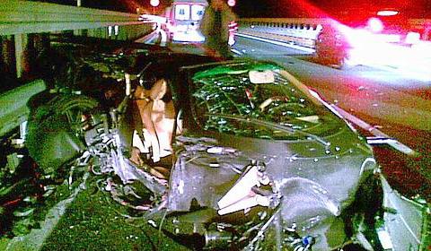 Pagani Zonda Crash Feb
