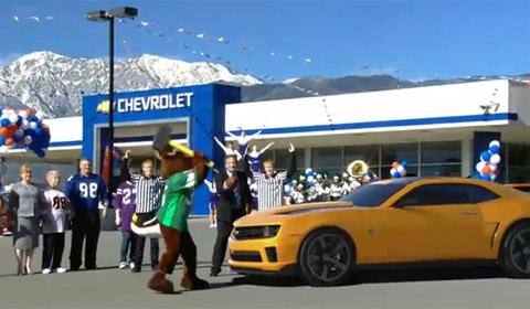 Chevrolet Camaro Superbowl Ad