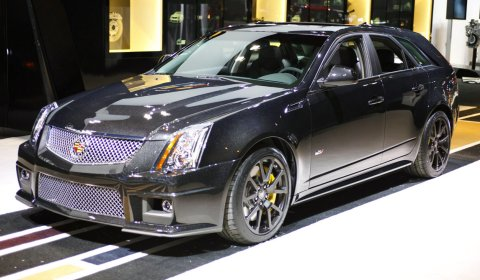 Chicago 2011 2011 Cadillac CTS-V Black Diamond Edition