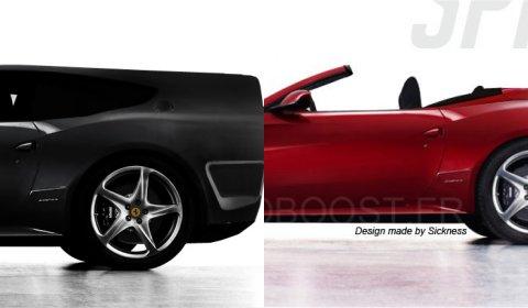 Choose Ferrari FFour Spyder or Ferrari FFour Breadvan