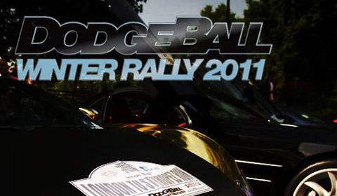 Dodgeball Winter Rally 2011 London to Verbier