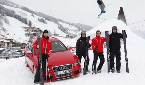 Duel Audi S4 VS Audi Carbon Ski