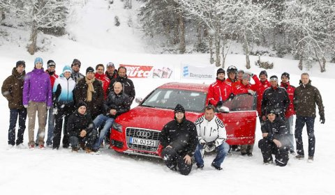 Duel Audi S4 VS Audi Carbon Ski 01
