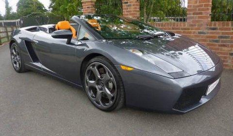 For Sale Jeremy Clarkson S Lamborghini Gallardo Spyder Gtspirit