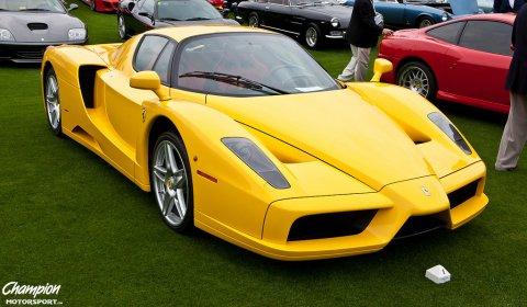 Gallery Yellow Ferrari Enzo At Cavallino Classics Xx Gtspirit